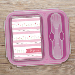 Field Of Tulips Collapsible Lunch Box