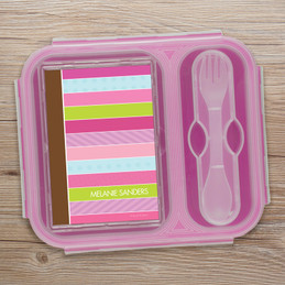 Sweet Lines Collapsible Bento Box