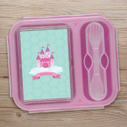 A Castle In The Sky Collapsible Lunch Box