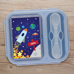 Rocket Launch Collapsible Lunch Box