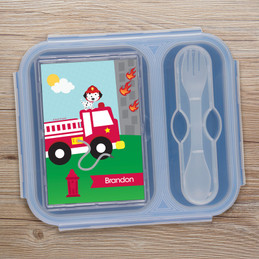 Fighting Fire Collapsible Bento Box