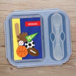 My Love For Sports Collapsible Lunch Box