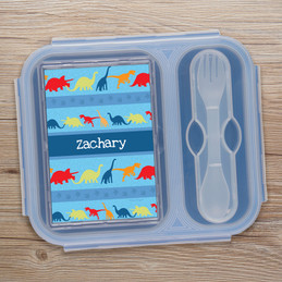 Dinosaur Trails Collapsible Bento Box