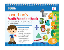 Math Practice Book For Boys
