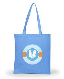 Smiley Blue Bunny Easter Gifts