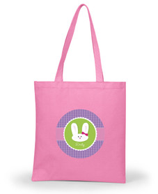 Smiley Purple Bunny Personalized Easter Gifts