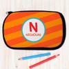 Fun Initials - Orange Pencil Case