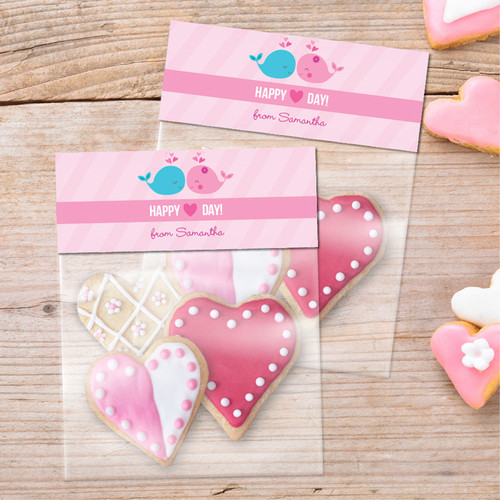 Whales In Love Treat Bags