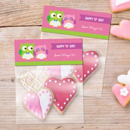 Sweet Owls Favor Bags