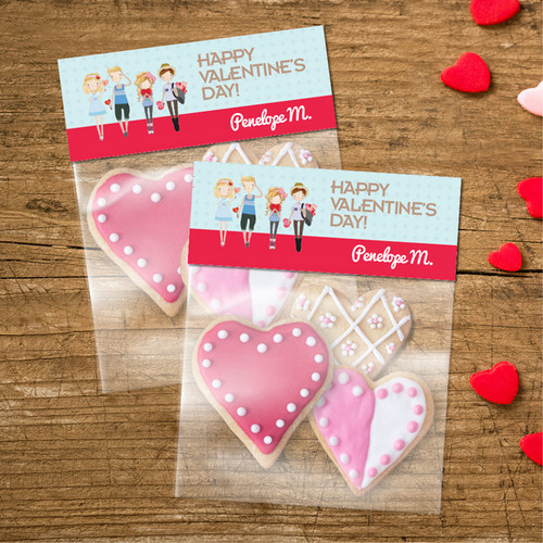Group Of Love Treat Bags