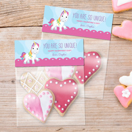 Pink Sweet Unicorn Favor Bags