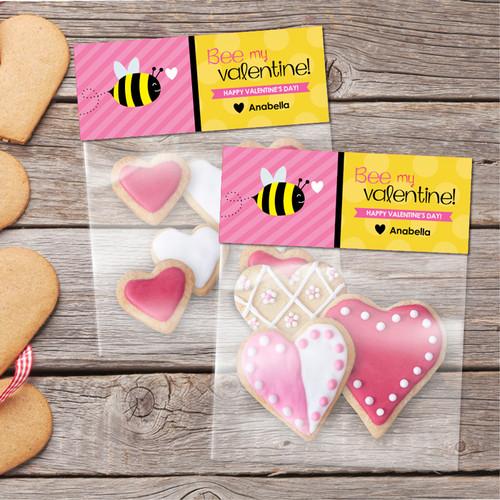 Bee My Valentine Favor Bags