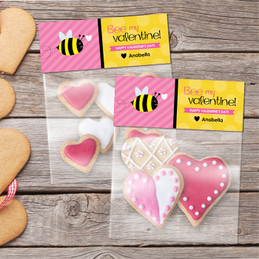 Bee My Valentine Favor Bags