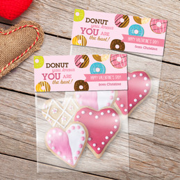 Donut Love Favor Bags SP62