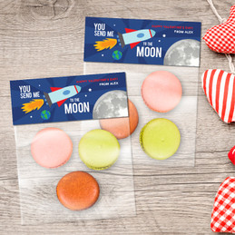 Love To The Moon Treat Bags