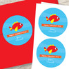 Sweet Fish Valentines Labels