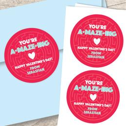 Sweet Maze Custom Stickers