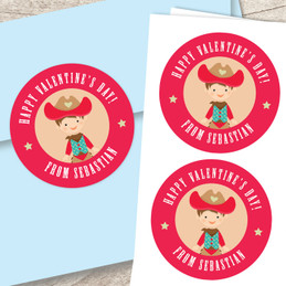 Western Cowboy Custom Stickers