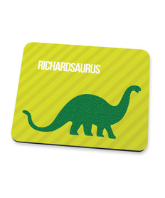 Dino And Me Green Mouse Pad