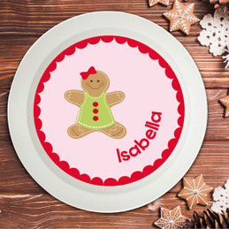 Xmas Cookie For Me Pink Kids Bowl