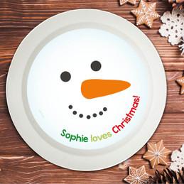 I Love Christmas Time Kids Bowl