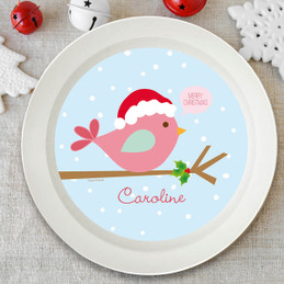 Cute Xmas Birdie Kids Bowl