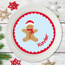 Xmas Cookie For Me Blue Kids Bowl