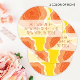 Pretty Blooms Label Set