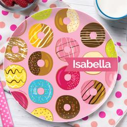 Sweet Donuts Kids Plates