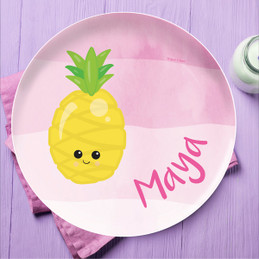 Yummy Pineapple Kids Plates