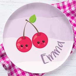 Yummy Cherries Kids Plates