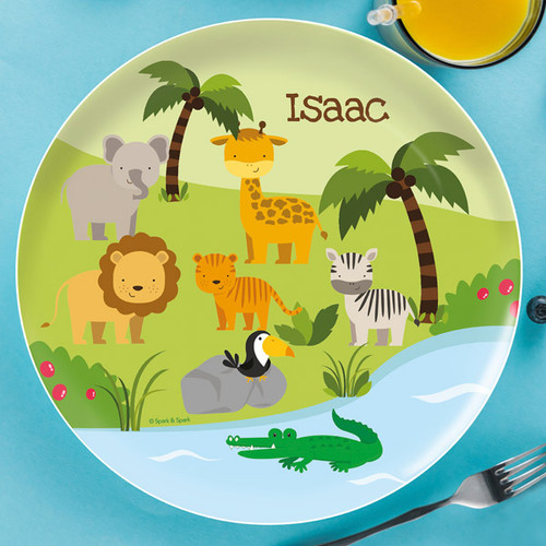 Jungle Fever Kids Plate
