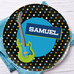 Guitar sounds Kids Plate