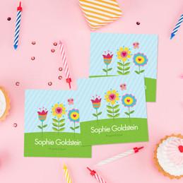 Spring Blooms Gift Label Set