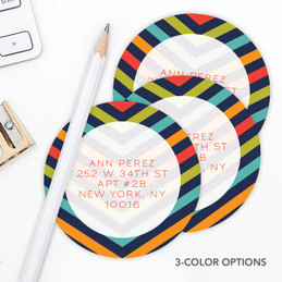 Style in Stripes Label Set