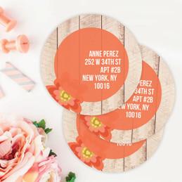 Rustic Flower Label Set