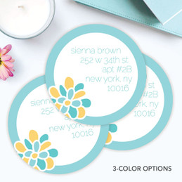 A Sweet Bloom Label Set