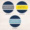 Herringbone Mood Label Set
