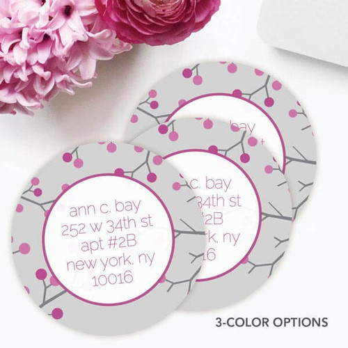 Branches and Dots Label Set
