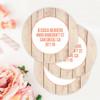 Rustic Heart Label Set