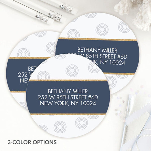 Spinning Circles Label Set