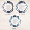 Triangles & Glitter Label Set