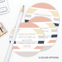 Array of Stripes Label Set