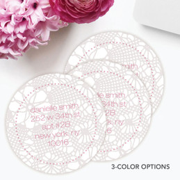 Sweet Embroidery Label Set