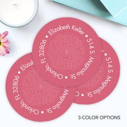 Sweet Flowers Label Set