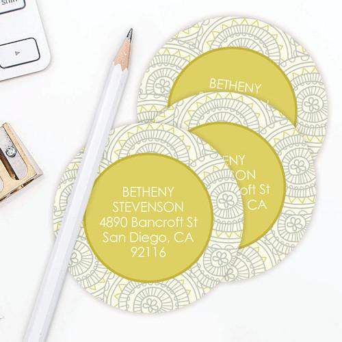 Circles and shapes Label Set