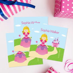 Sweet Little Princess Gift Label Set