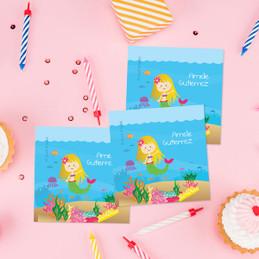 Sweet Mermaid Gift Label Set
