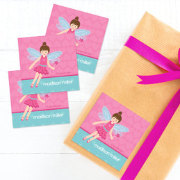 Blonde Fairy Girl Gift Label Set