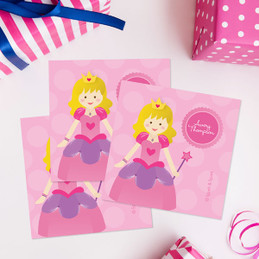 Cute Princess Gift Label Set